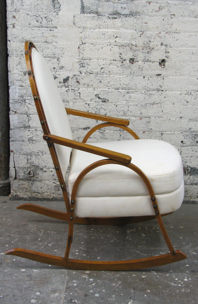 Thumbnail image for A Vintage SnowShoe Rocking Chair