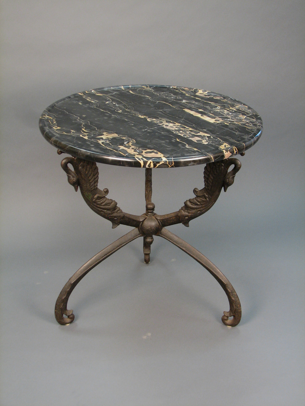 Post image for An Exceptional Cast Iron and Portor Marble Gueridon