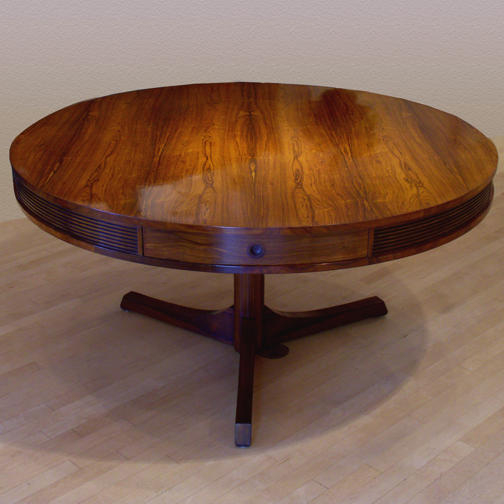 Thumbnail image for Rosewood Drum Table by Heritage