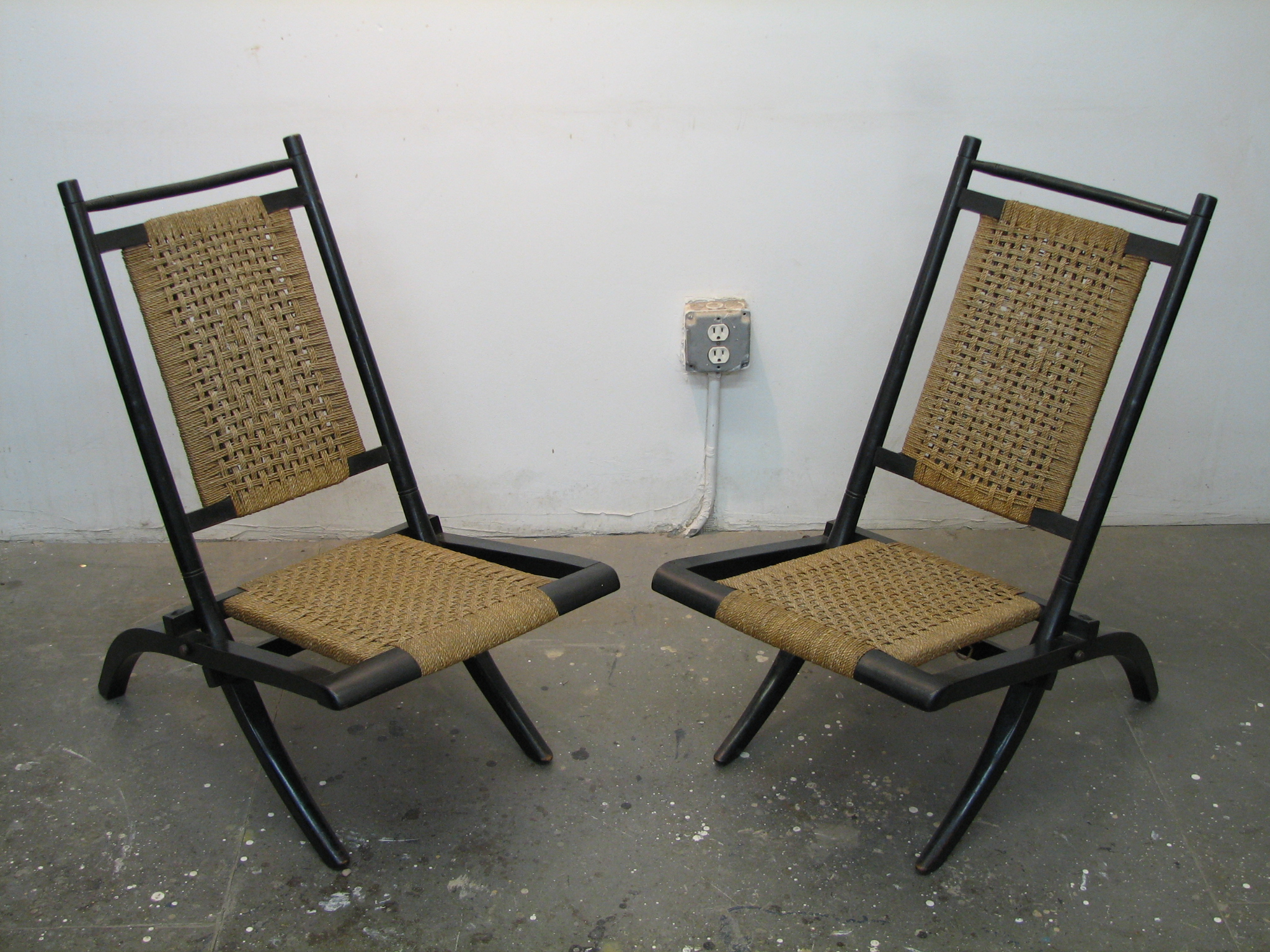 Thumbnail image for Pair of Folding Chairs by Godwin