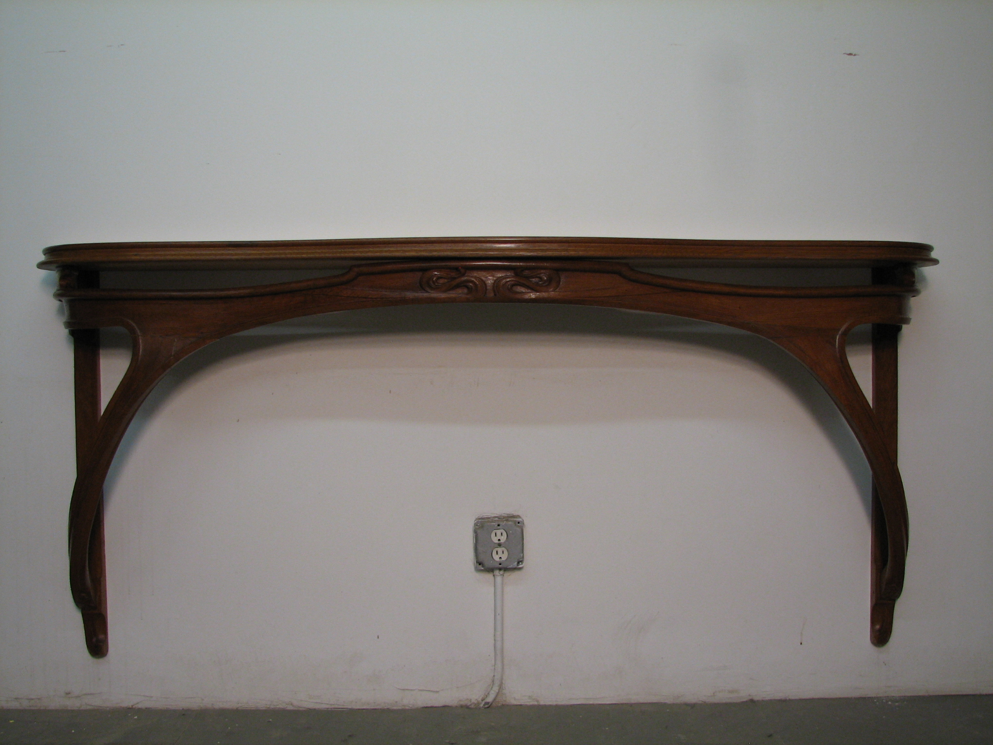 Thumbnail image for Art Nouveau Carved Console Table
