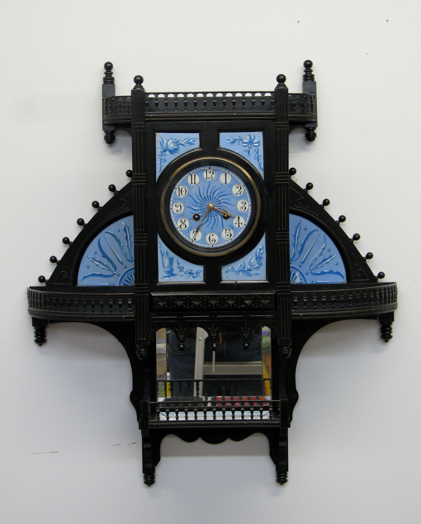 Post image for Rare Aesthetic Period Wall Clock